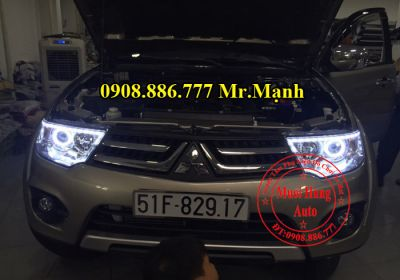 Độ Đèn Led, Angel Eyes Pajero Sport