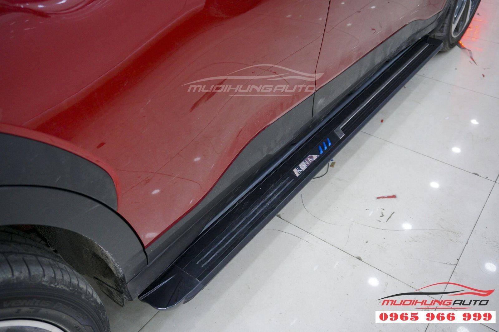Bệ bước chân Hyundai Kona giá tốt tại TPHCM 02