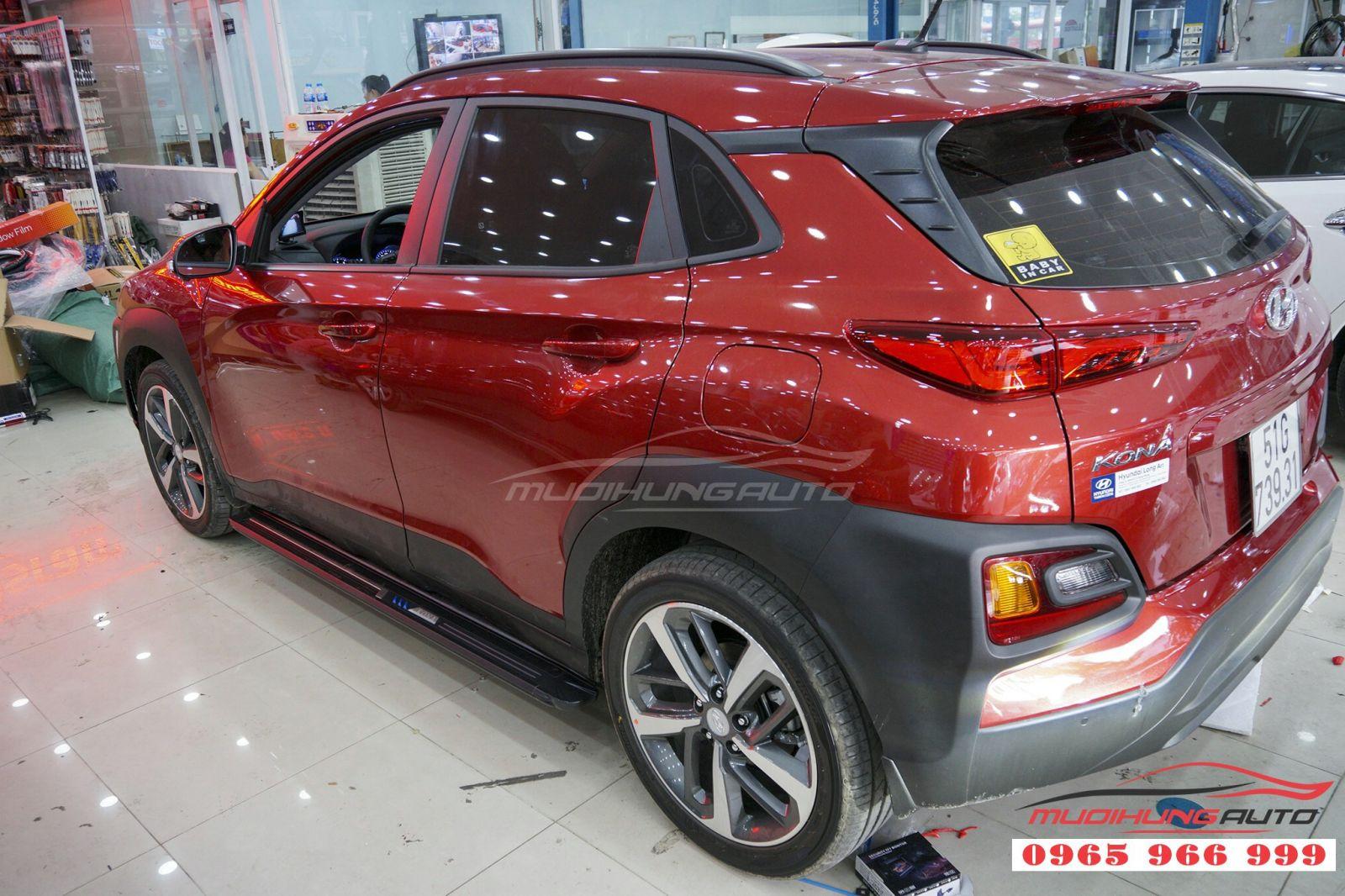 Bệ bước chân Hyundai Kona giá tốt tại TPHCM 04