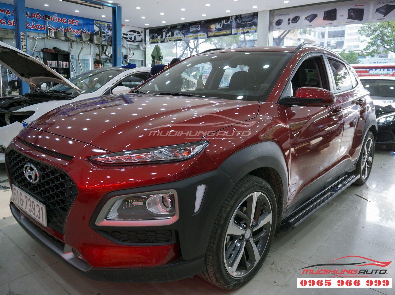 Bệ bước chân Hyundai Kona giá tốt tại TPHCM 06