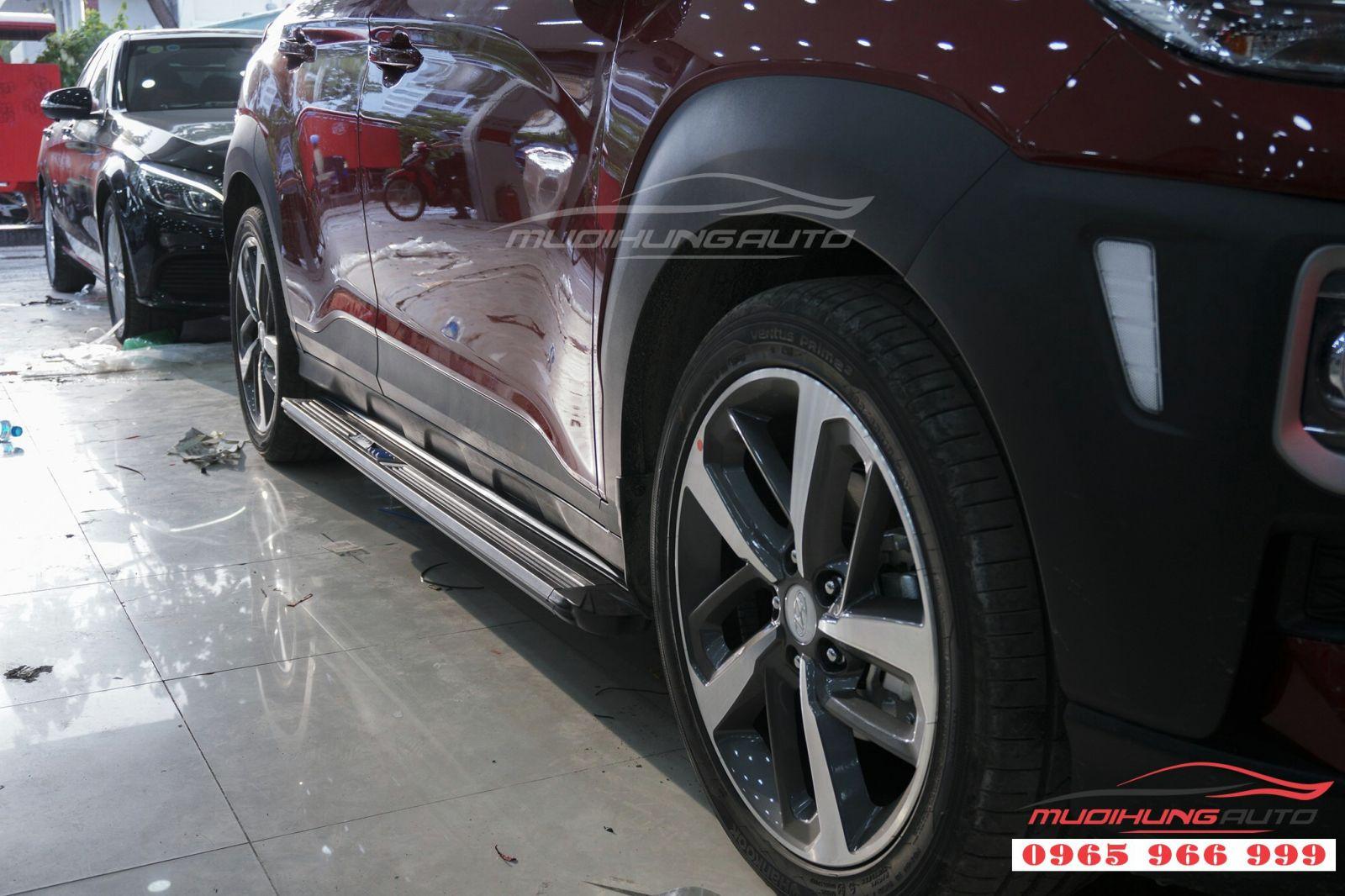 Bệ bước chân Hyundai Kona giá tốt tại TPHCM 09