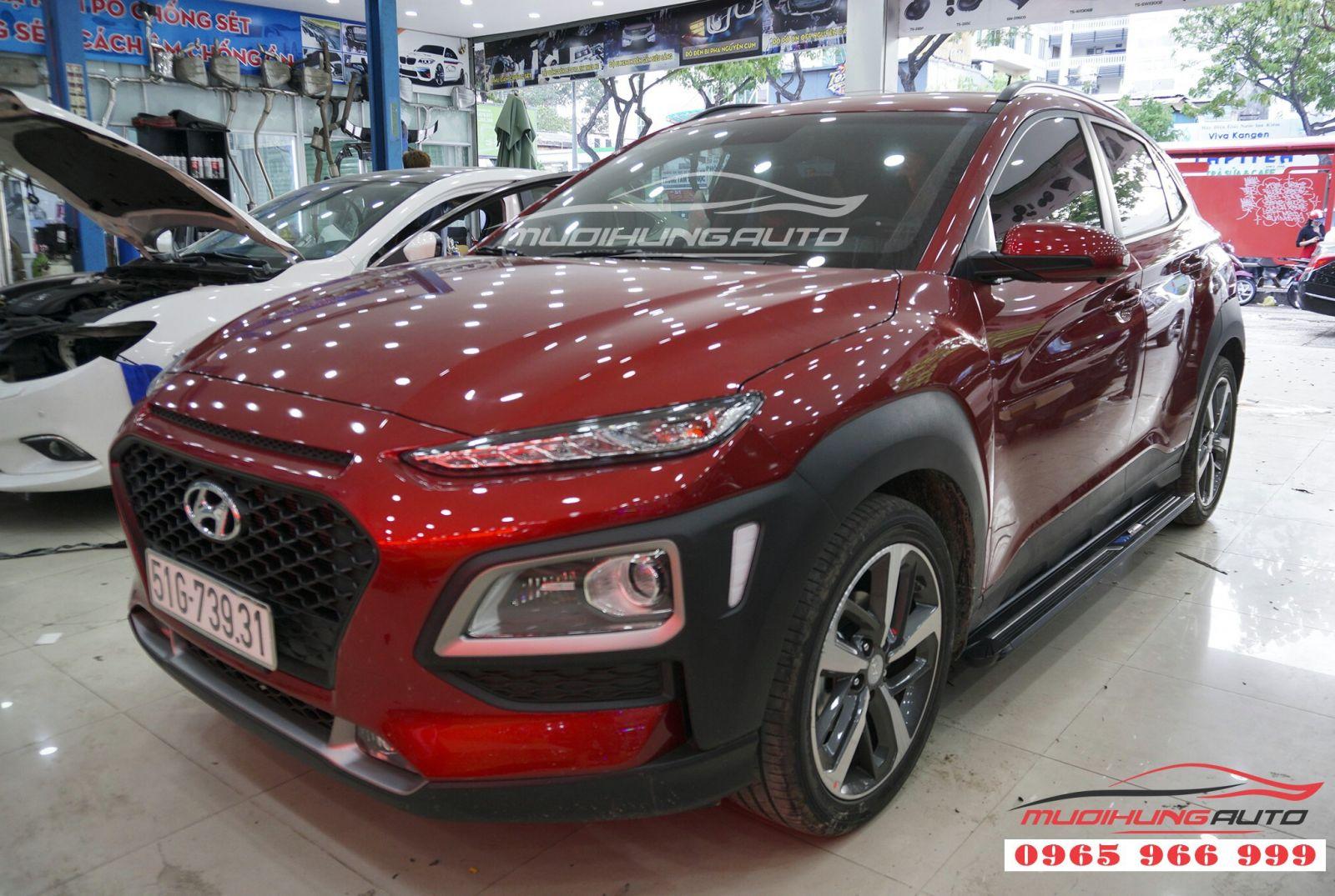 Bệ bước chân Hyundai Kona giá tốt tại TPHCM 10