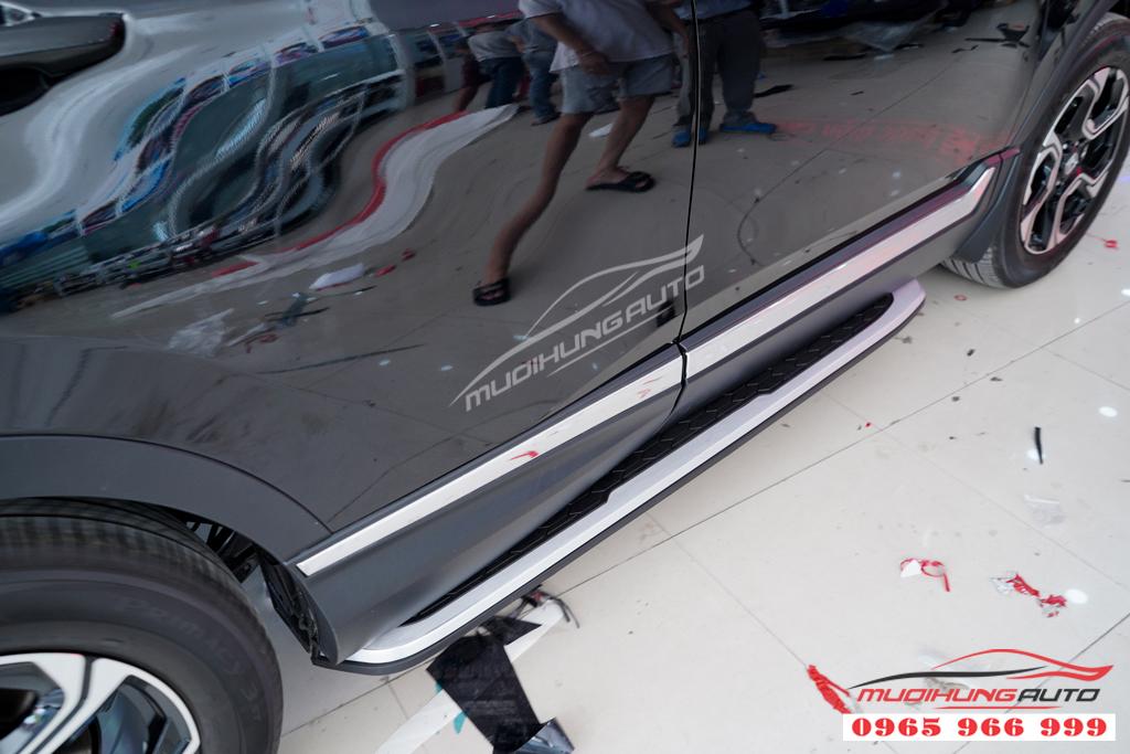 Bệ bước lên xuống Honda CRV 2019 Chính hãng 08