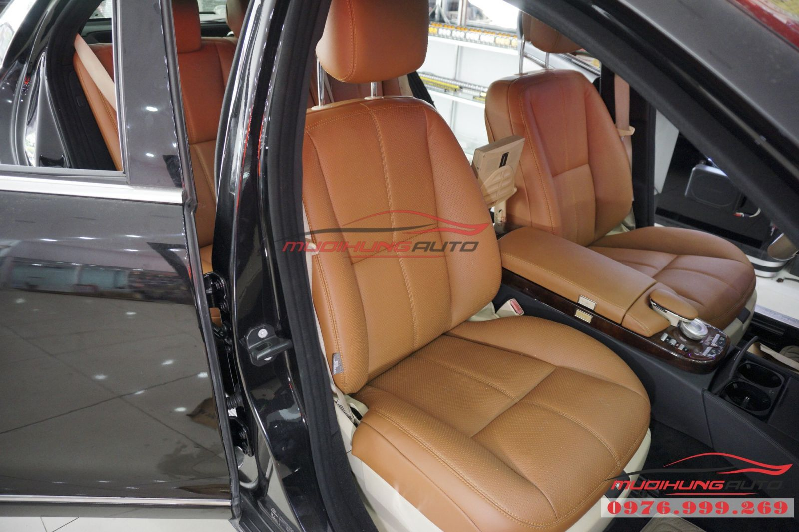 Bọc ghế da cao cấp cho Mercedes Benz giá tốt 01