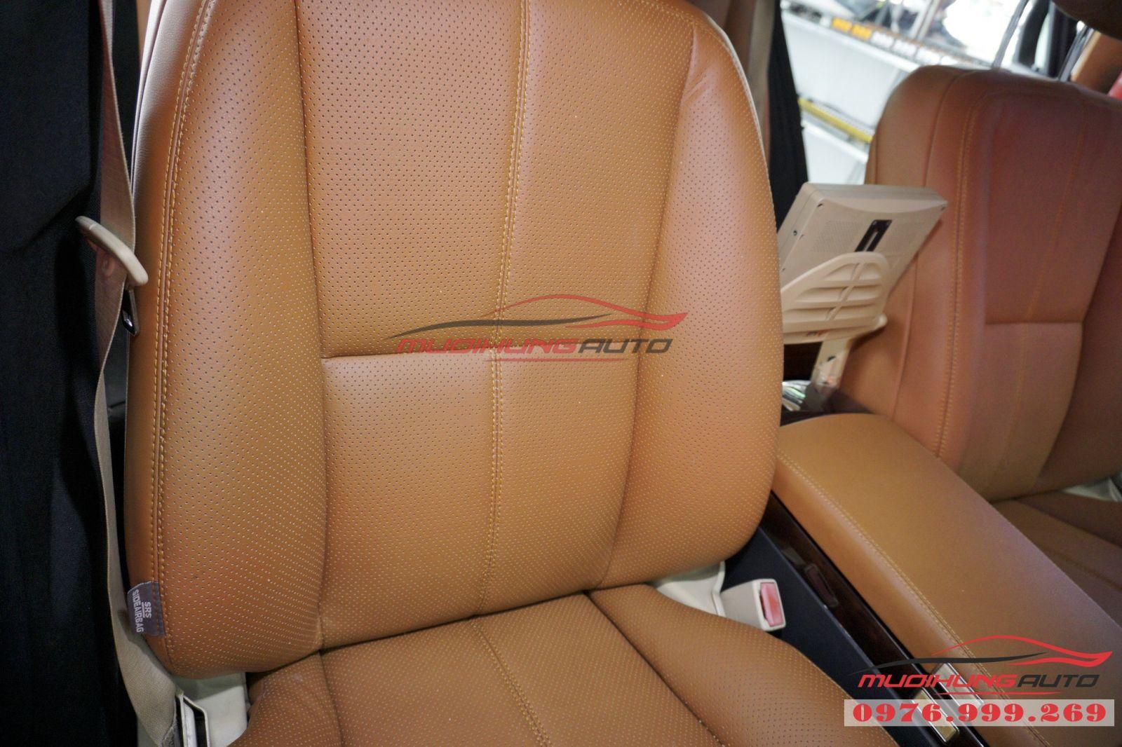 Bọc ghế da cao cấp cho Mercedes Benz giá tốt 07