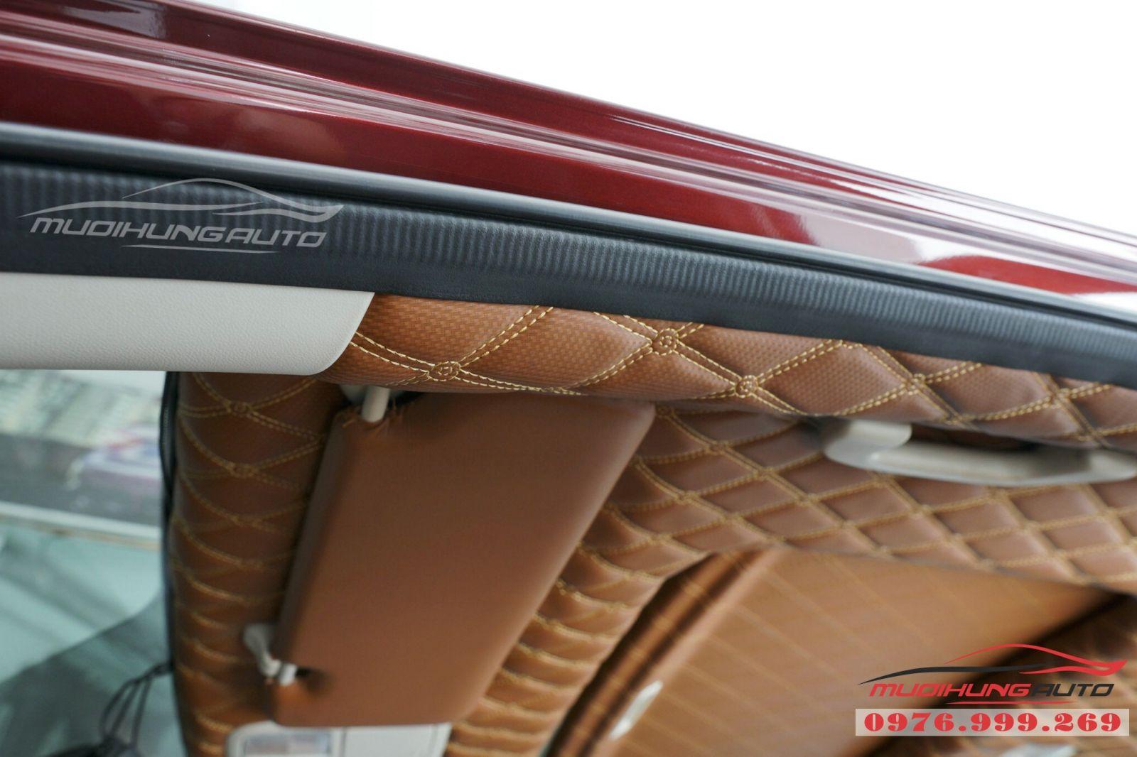 Bọc trần da 5D cho xe Honda CRV 04