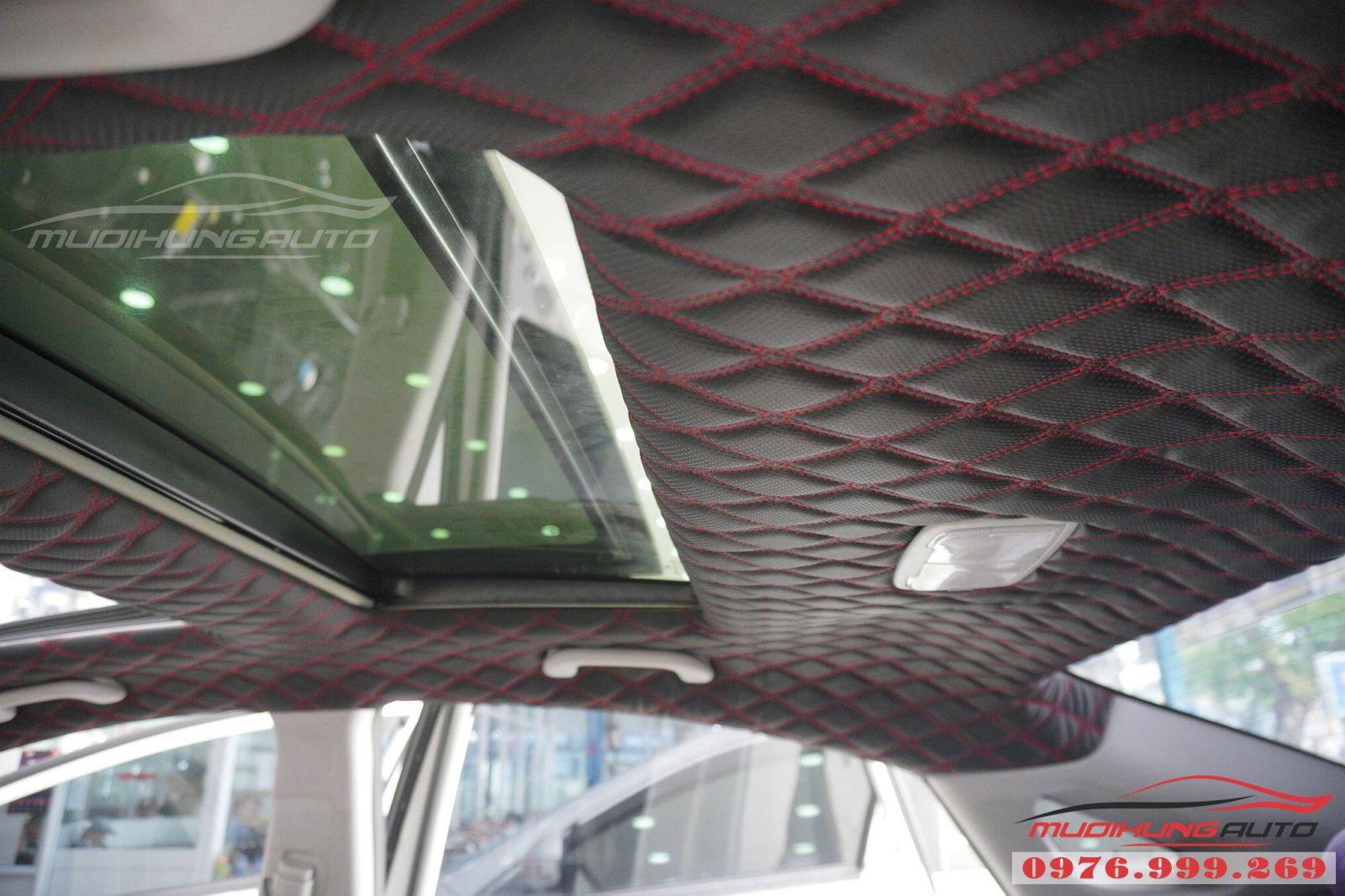 Bọc trần 5D cho Hyundai Sonata cao cấp 01