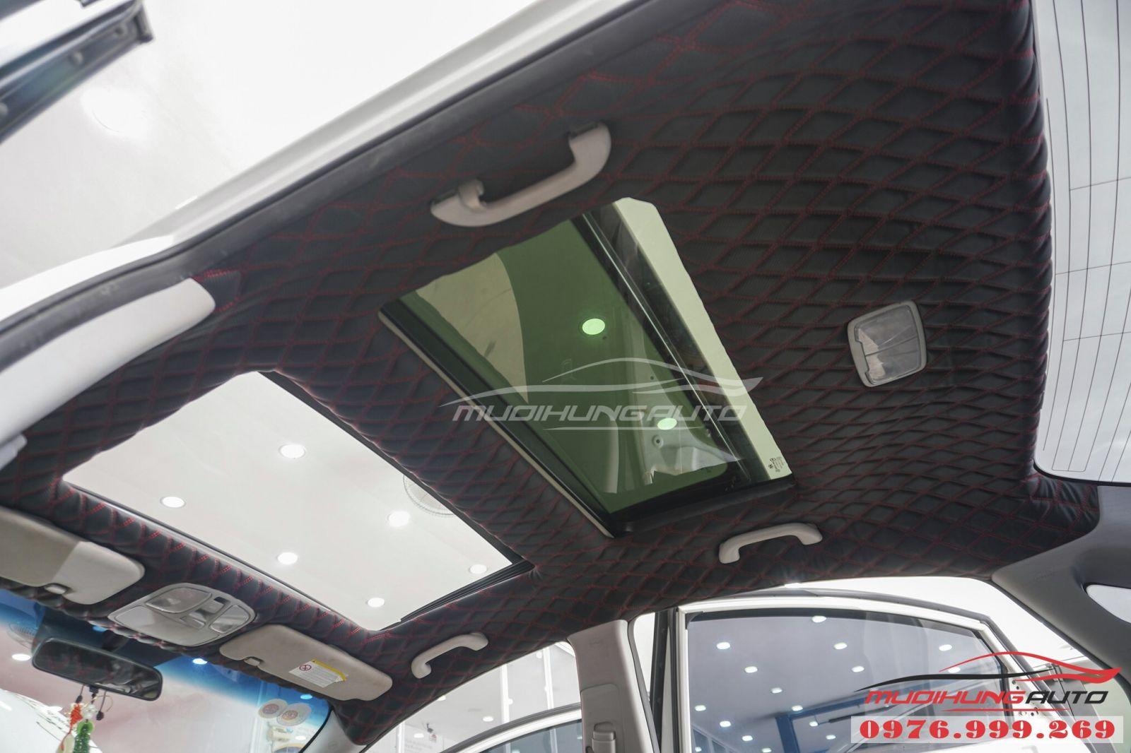 Bọc trần 5D cho Hyundai Sonata cao cấp 05