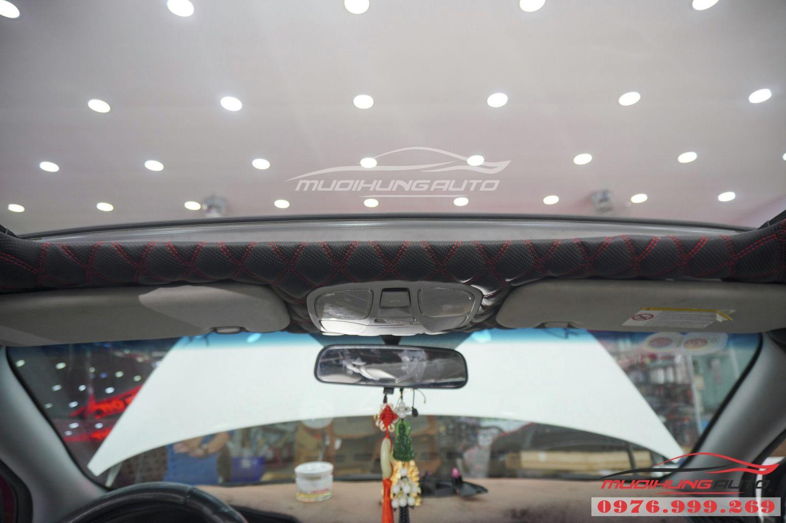 Bọc trần 5D cho Hyundai Sonata cao cấp 07