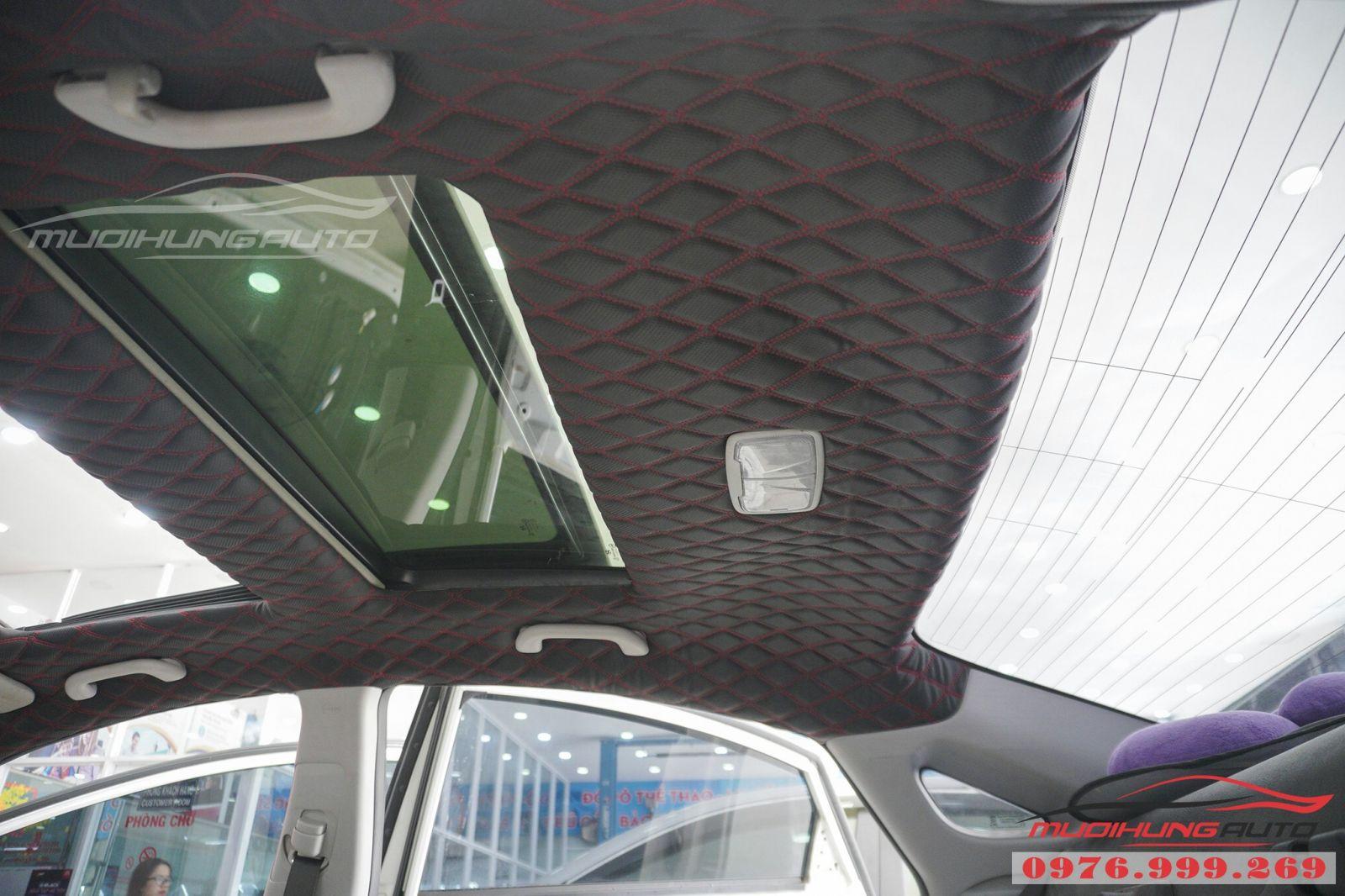 Bọc trần 5D cho Hyundai Sonata cao cấp 08
