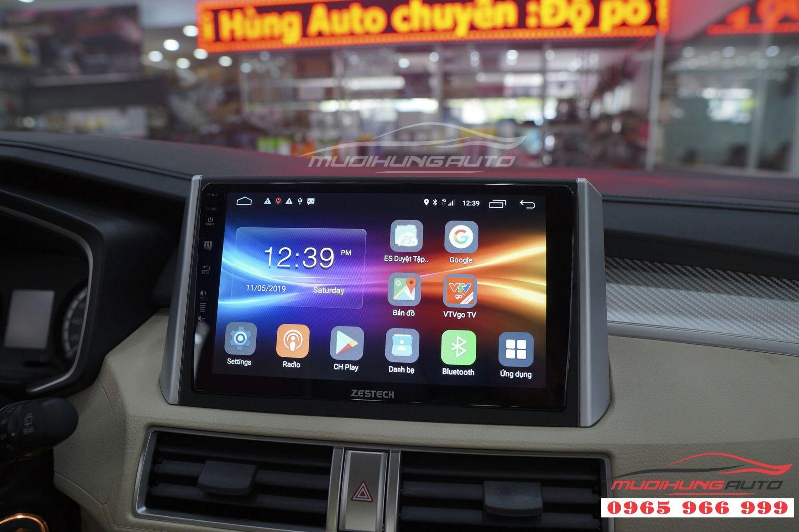 DVD Zestech Z500 khuấy động thị trường phụ kiện ô tô 01