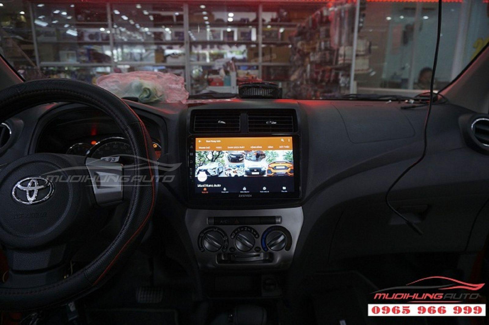 DVD Zestech Z500 chính hãng cho xe Toyota Wigo 03