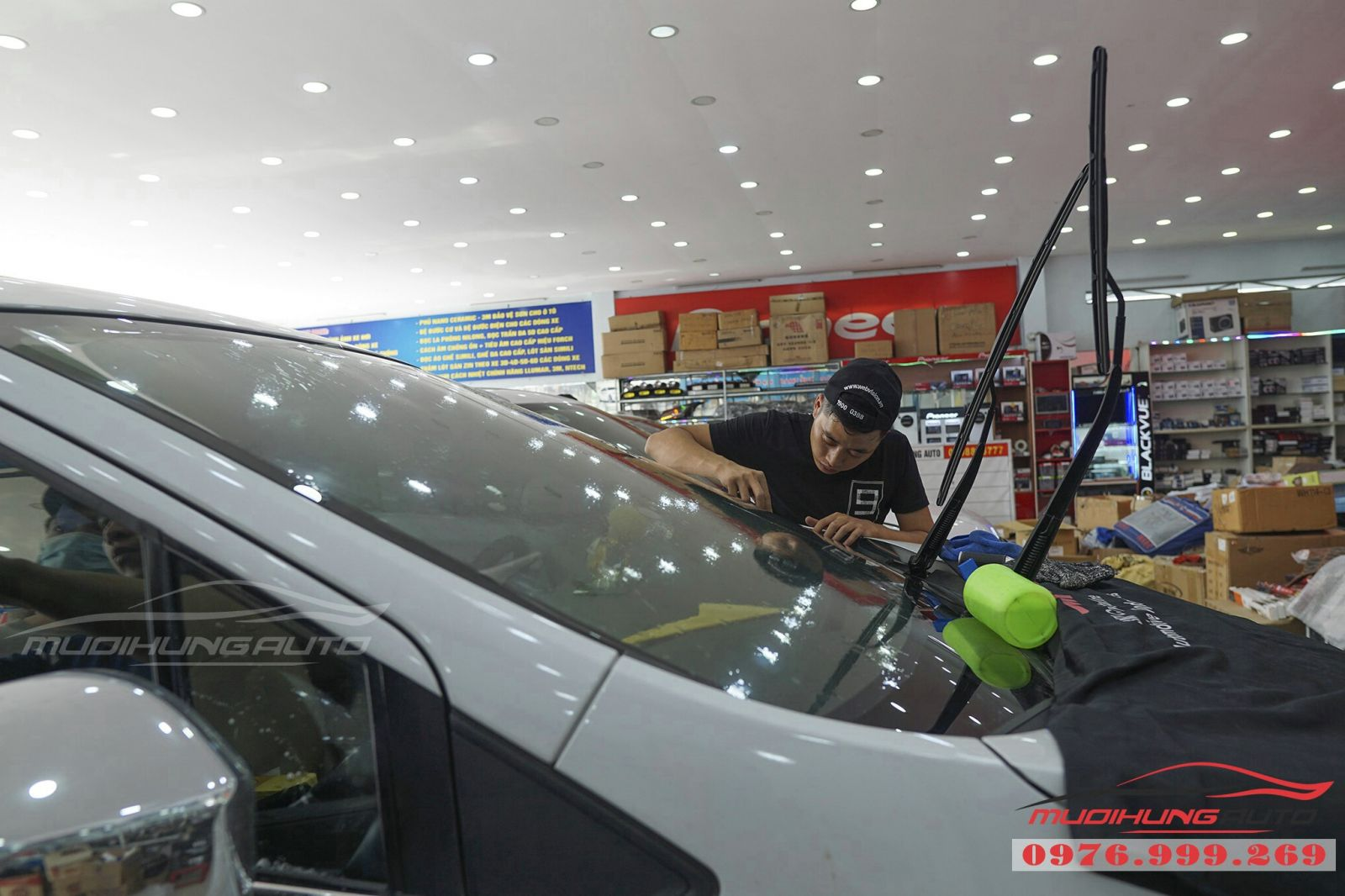 Dán phim cách nhiệt 3M cho Mitsubishi Xpander 02