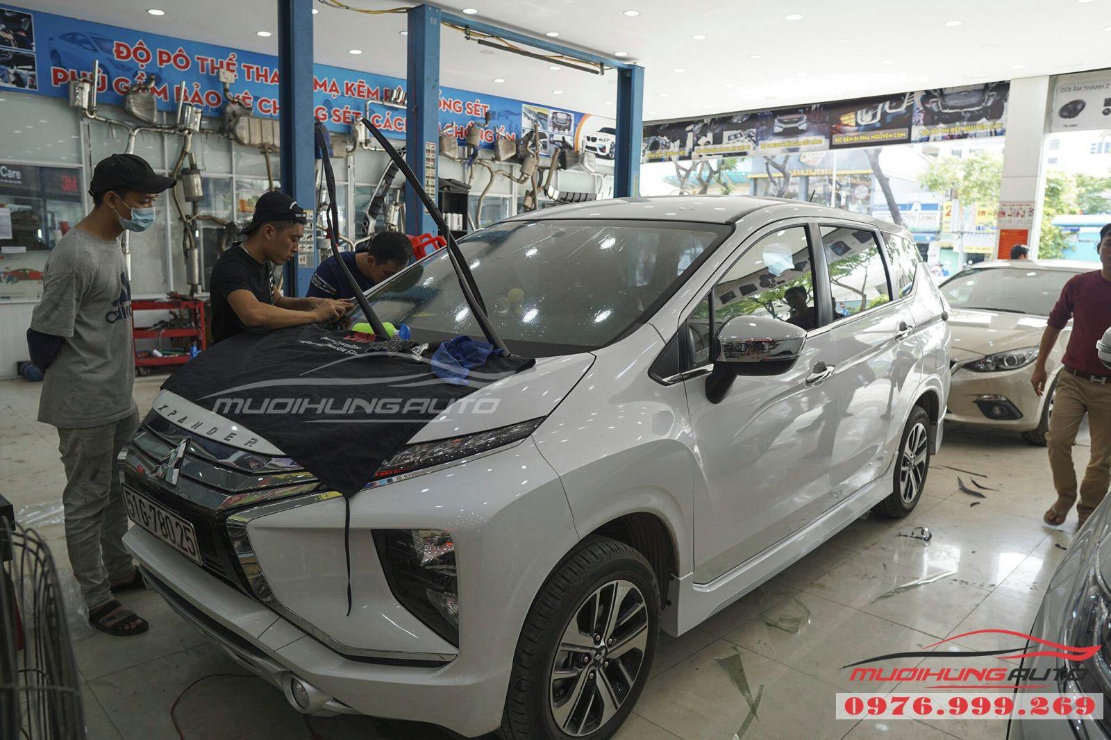 Dán phim cách nhiệt 3M cho Mitsubishi Xpander 04