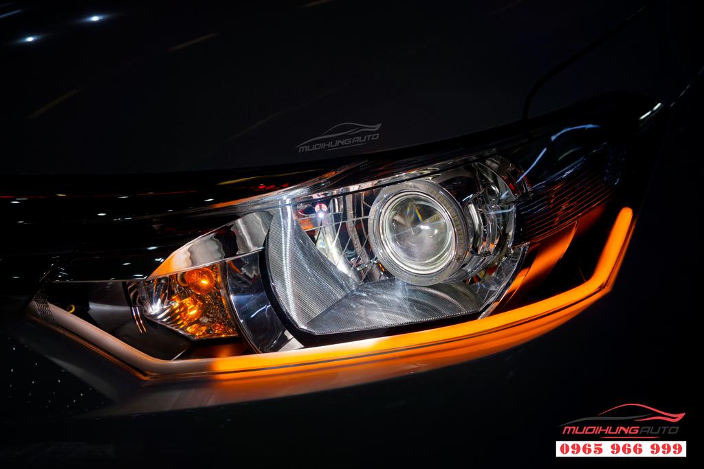 Độ Led mí Pha Toyota Vios 2019 tại TPHCM