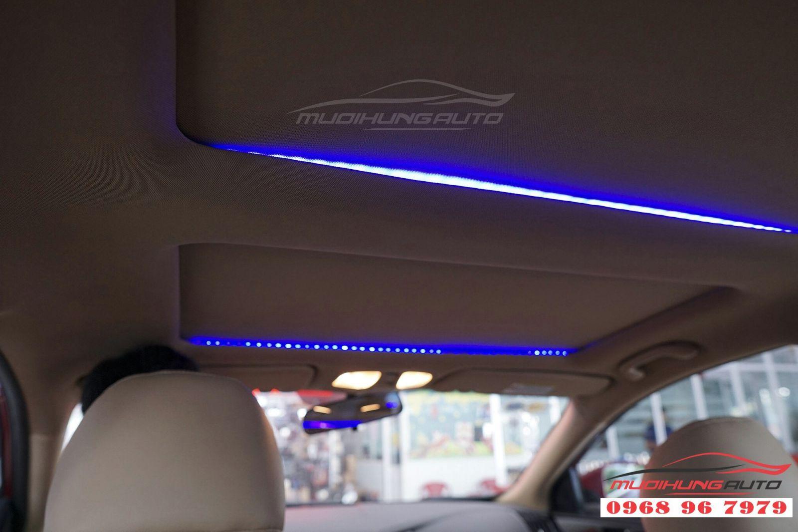 Độ LED trần nội thất cho Sonata tại TP HCM 04