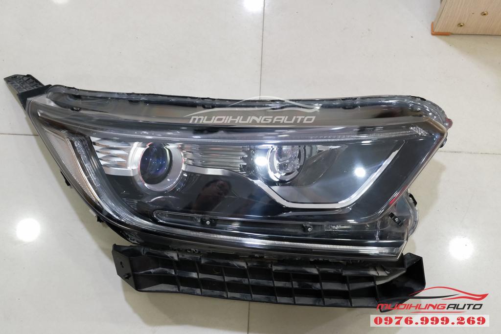 Độ Bi xenon cos pha và gắn Led đèn pha xe Honda CRV 2019 09