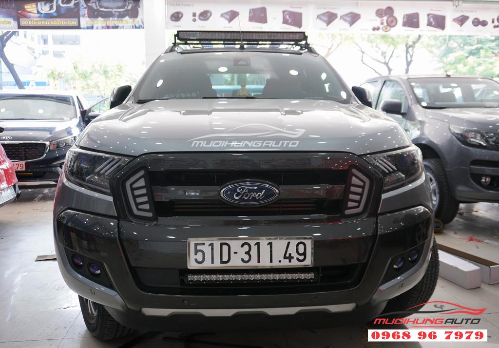 Độ bixenon gầm/cản Ford Ranger siêu sáng giá rẻ
