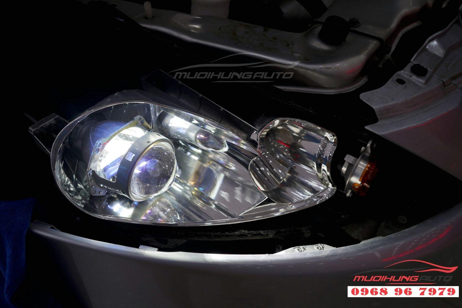 Độ bi xenon tăng sáng cho Grandis uy tín tại TP HCM 01