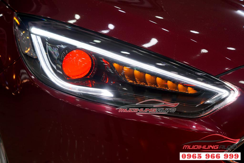 Độ Bixenon đèn pha Ford Focus tại tphcm 01