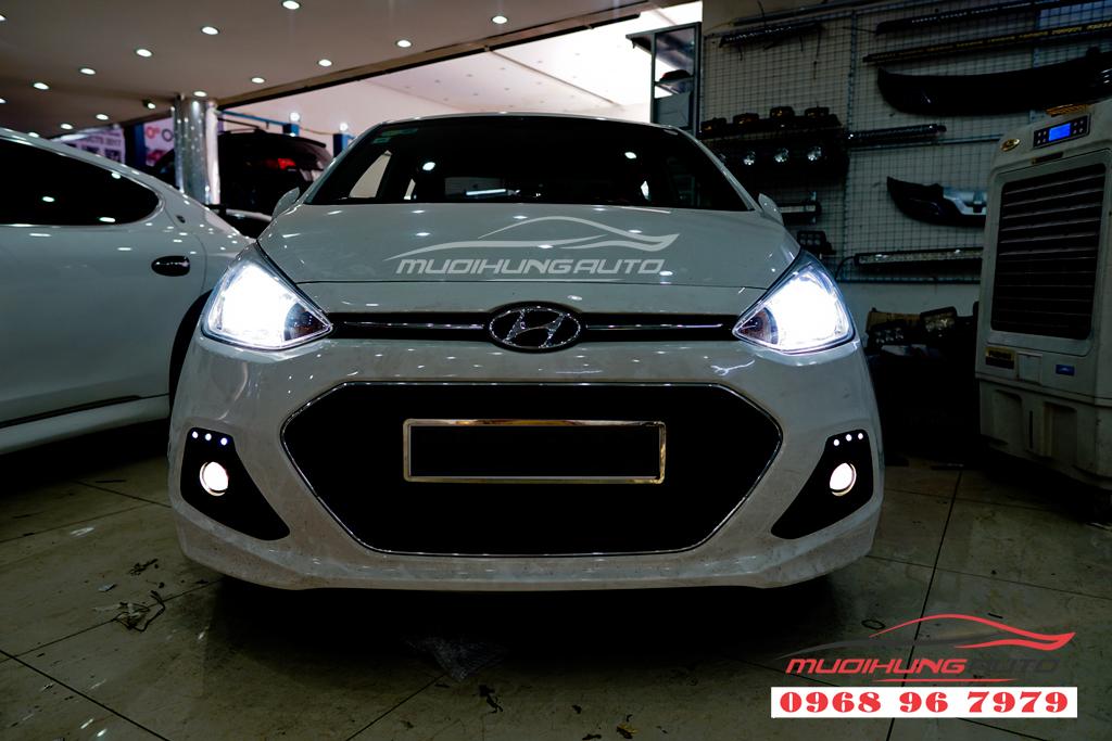 Độ đèn Bixenon cho đèn pha Hyundai I10 chuyên nghiệp 03