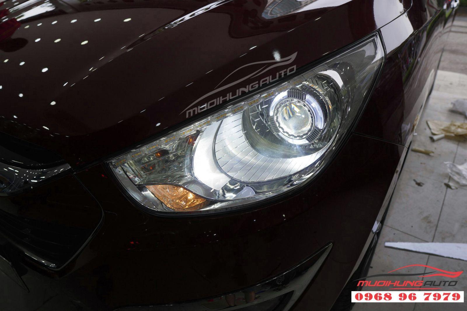 Độ đèn Hyundai Tucson chất lượng tại TP HCM 03