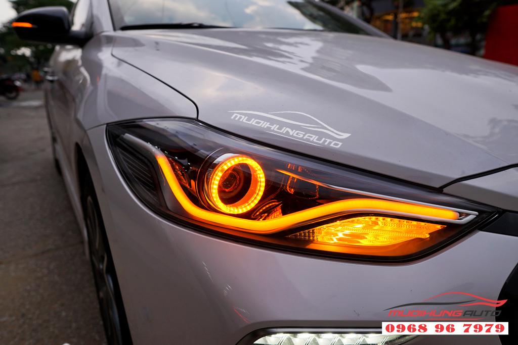 Độ đèn Led pha Hyundai Elantra 2018 chuyên nghiệp 04