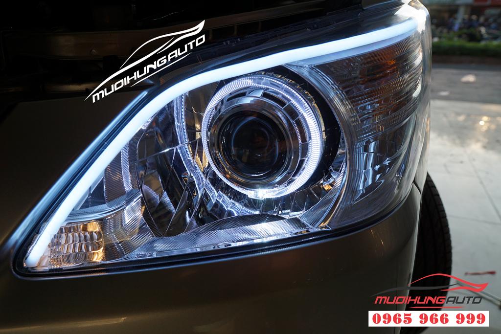 Độ đèn bixenon và led mí Toyota Innova 2007 tại Tphcm