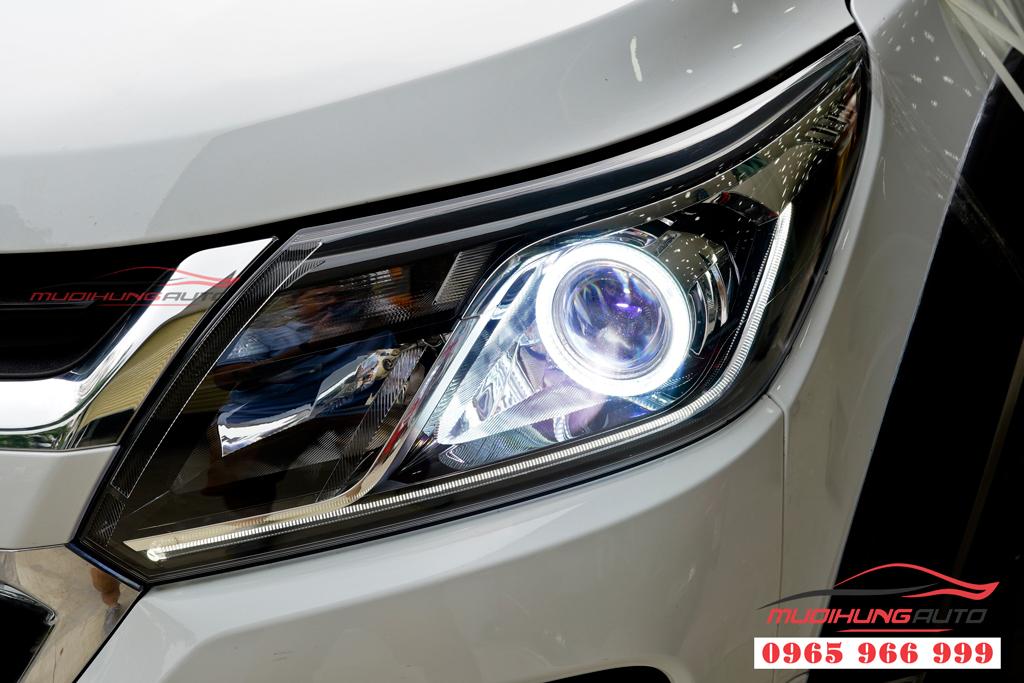 Độ đèn pha Chevrolet Colorado 2019 tại tphcm