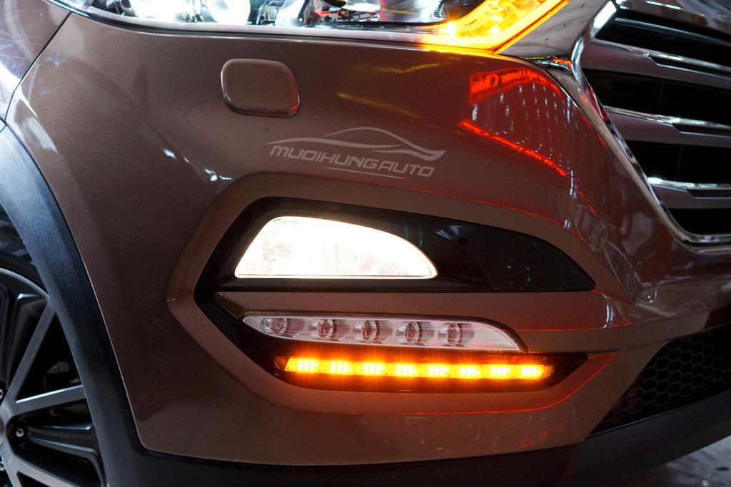 Độ đèn pha Hyundai Tucson 2018 Chuyên nghiệp 01