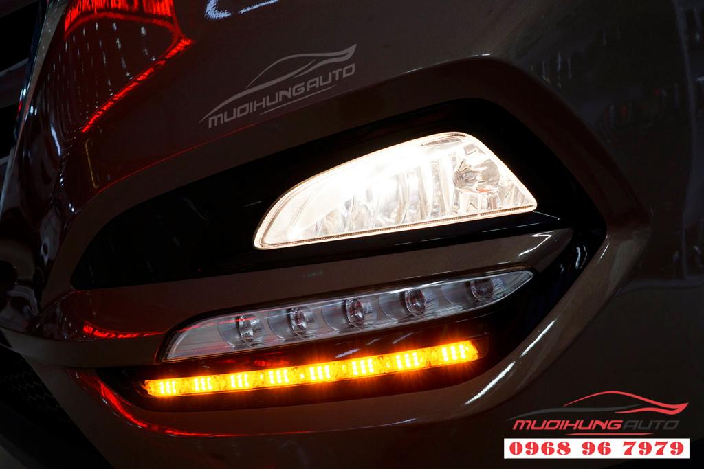 Độ đèn pha Hyundai Tucson 2018 Chuyên nghiệp 02