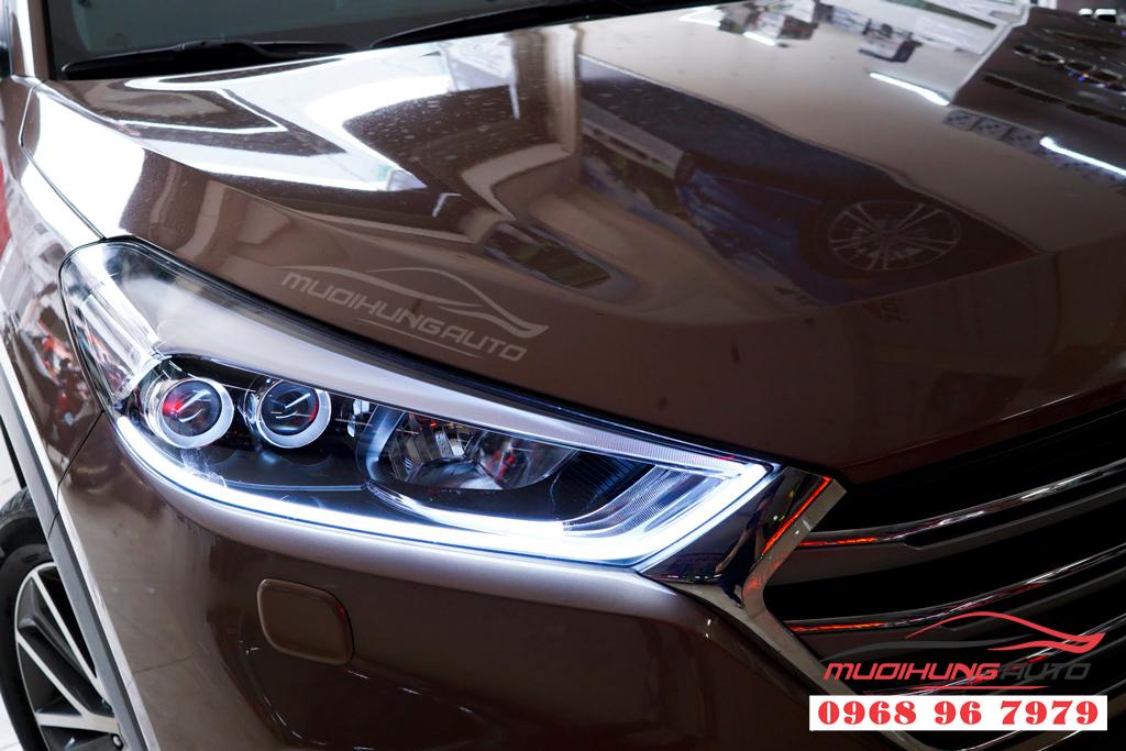 Độ đèn pha Hyundai Tucson 2018 Chuyên nghiệp 03