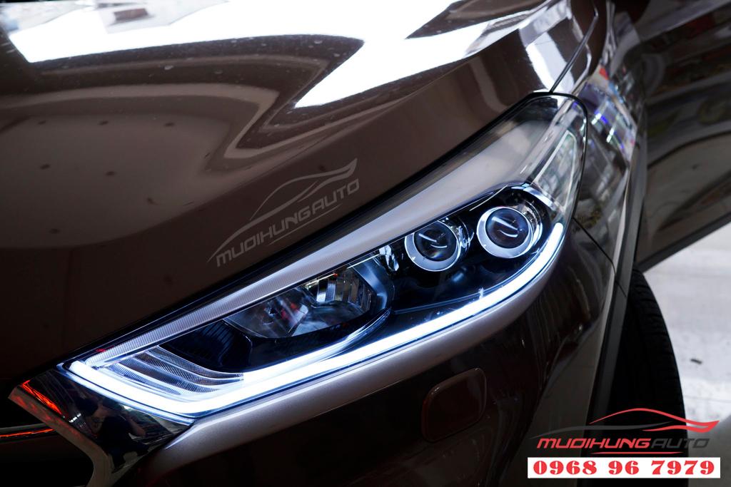 Độ đèn pha Hyundai Tucson 2018 Chuyên nghiệp 08