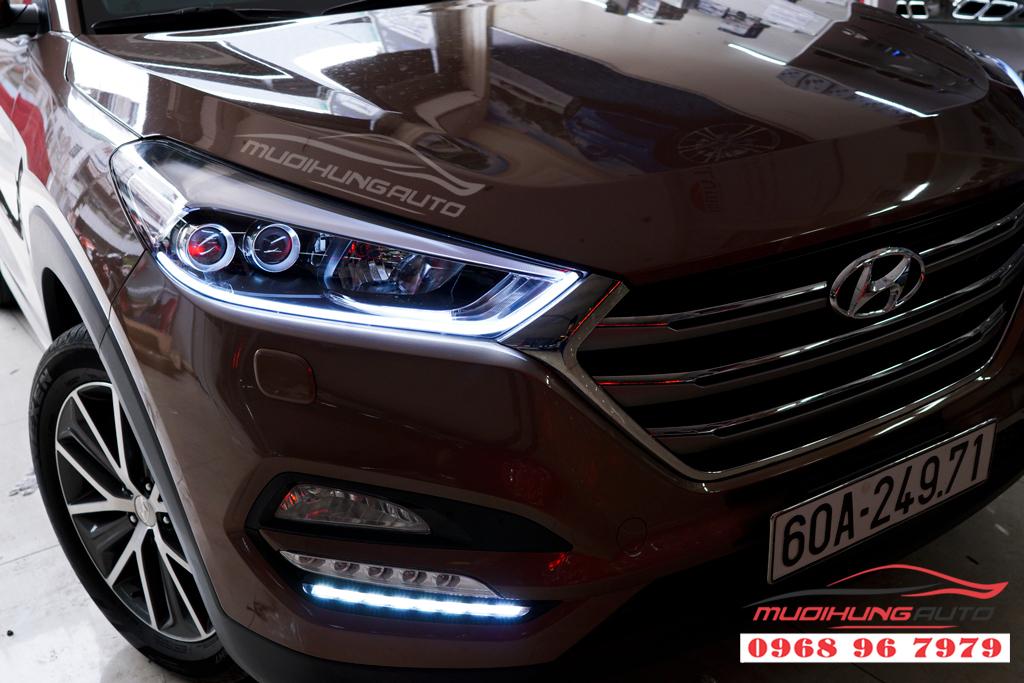 Độ đèn pha Hyundai Tucson 2018 Chuyên nghiệp 09