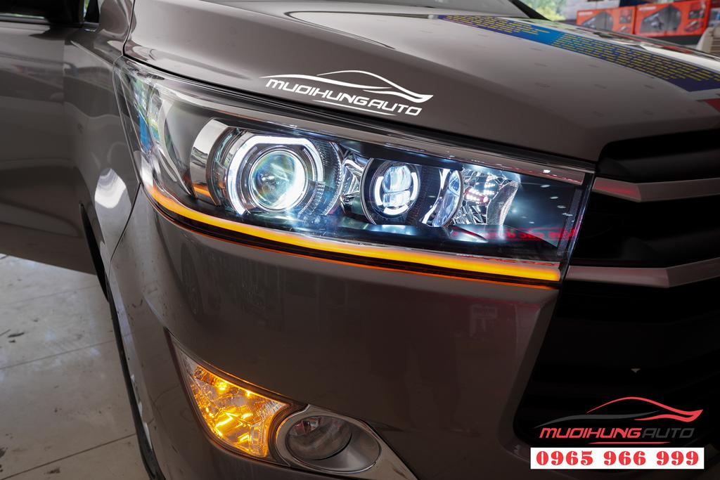 Độ đèn pha Toyota Innova 2019 chuyên nghiệp