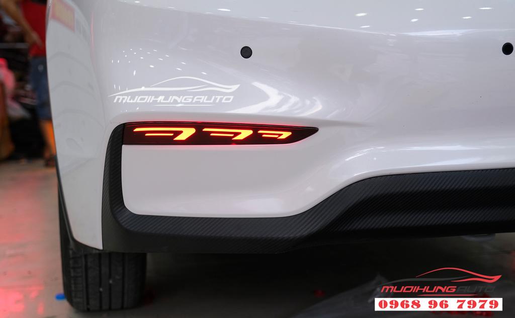 Độ đèn Pha xe Hyundai ACCENT uy tín 09
