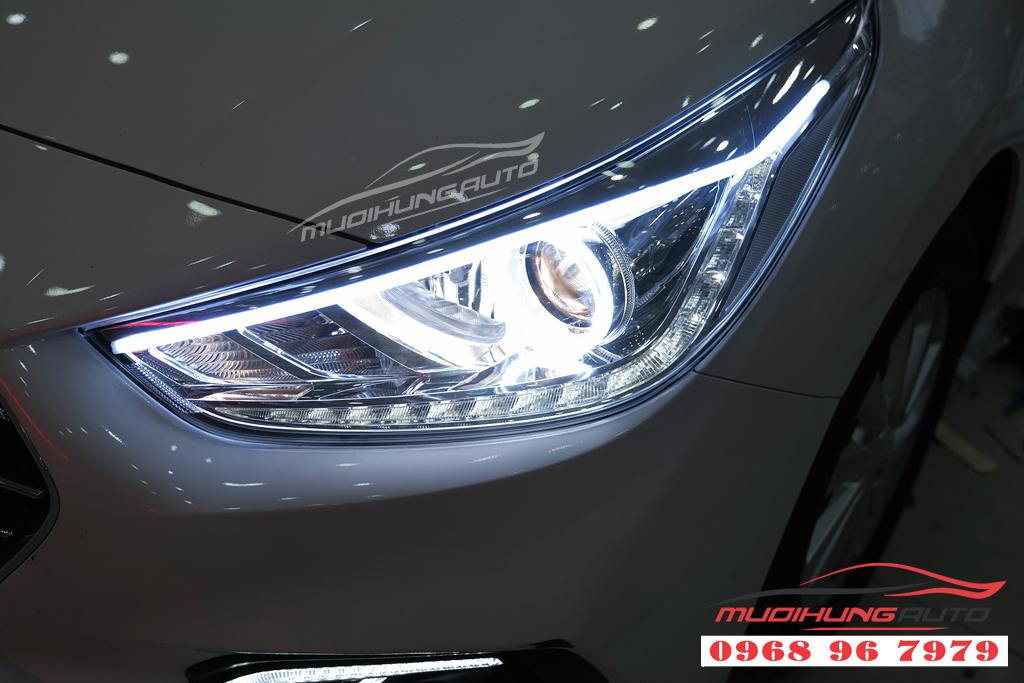 Độ đèn Pha xe Hyundai ACCENT uy tín 03