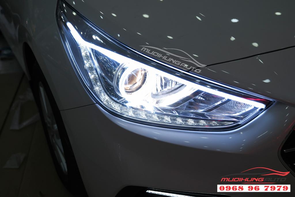 Độ đèn Pha xe Hyundai ACCENT uy tín 12