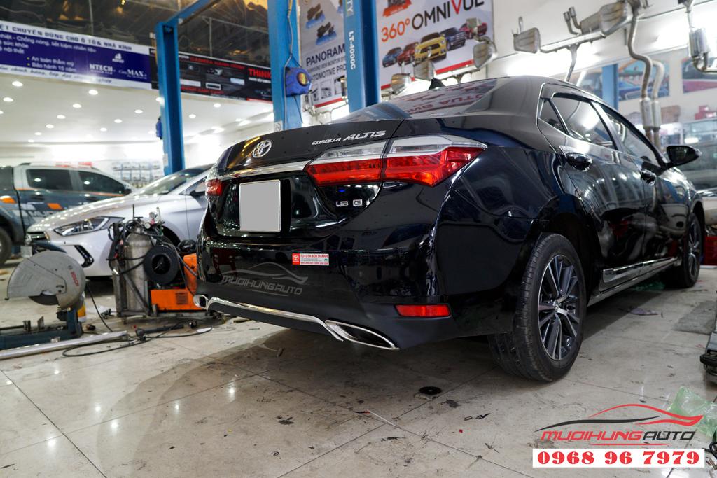Độ líp mer xe Altis 2019 chuyên nghiệp
