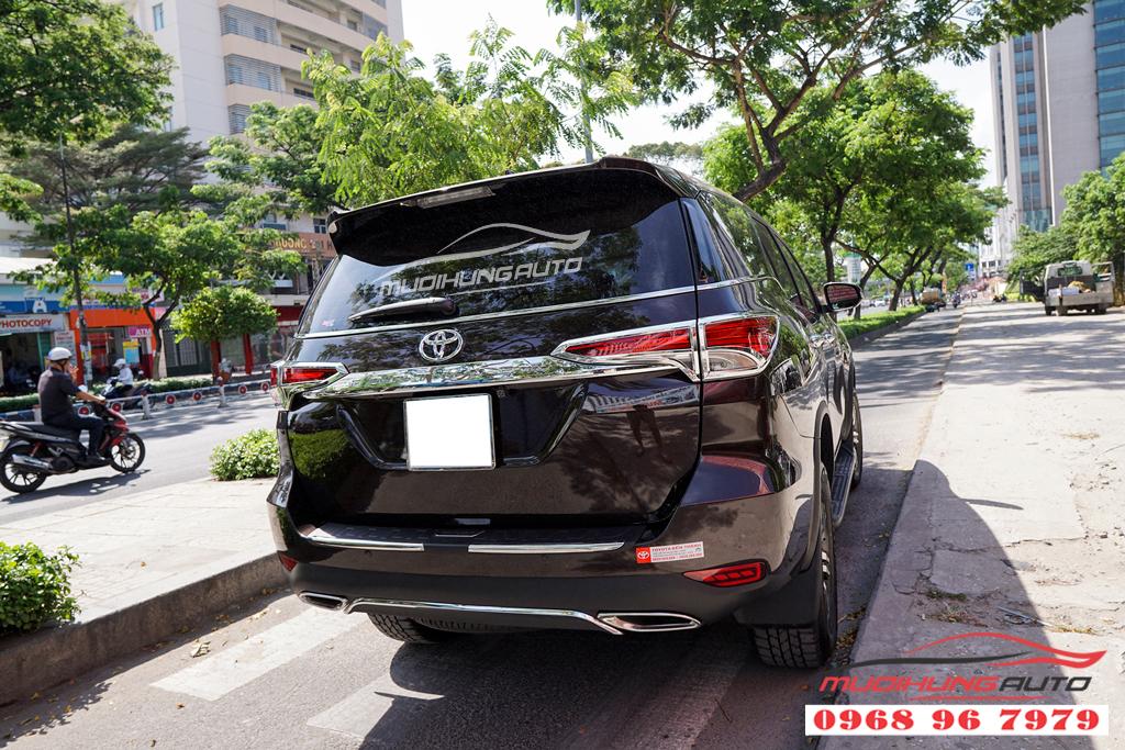 Độ pô thể thao Toyota Fortuner 2019 MẪU MER Chuyên nghiệp