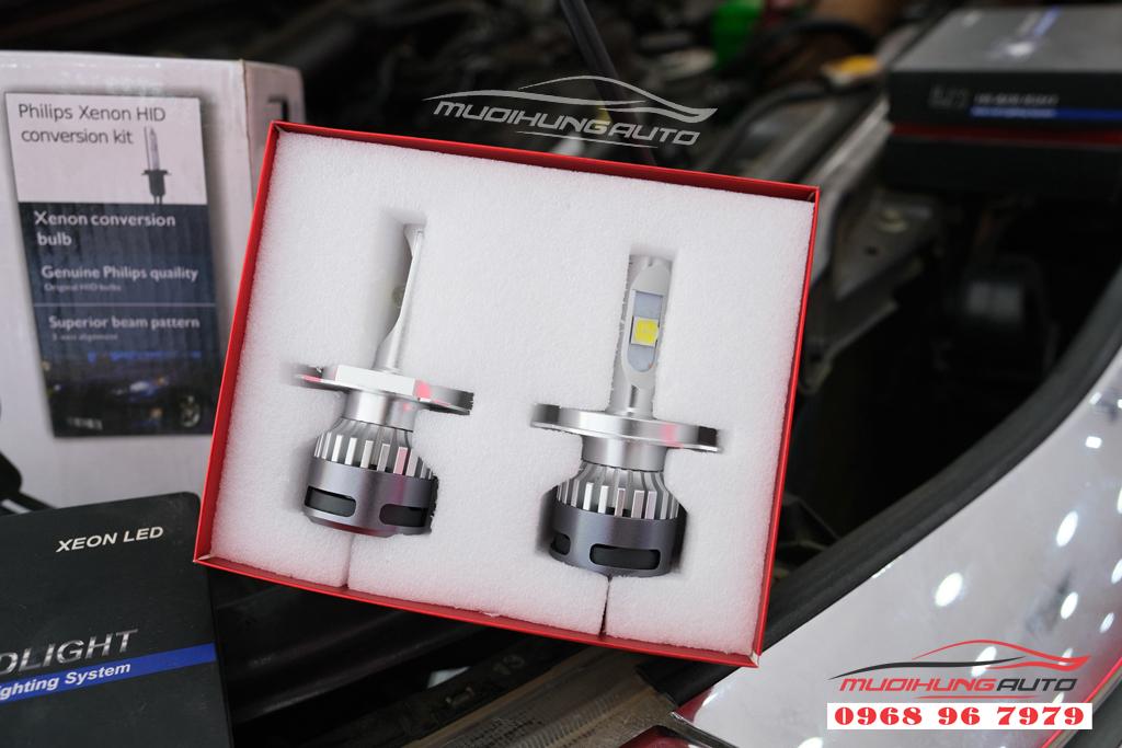 Fortuner 2012 thay bóng xenon và LED pha uy tín 10