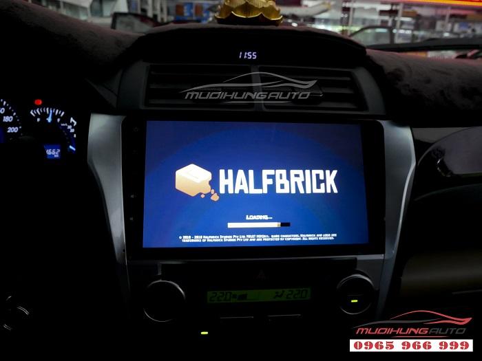 Gắn Dvd theo xe Toyota Camry chính hãng giá rẻ 08