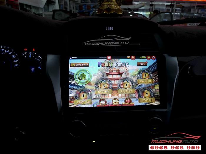 Gắn Dvd theo xe Toyota Camry chính hãng giá rẻ 10