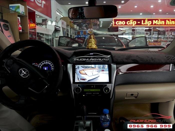 Gắn Dvd theo xe Toyota Camry chính hãng giá rẻ 12