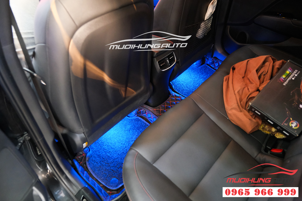 Gắn LED nội thất cao cấp cho Hyundai Elantra 2020 0
