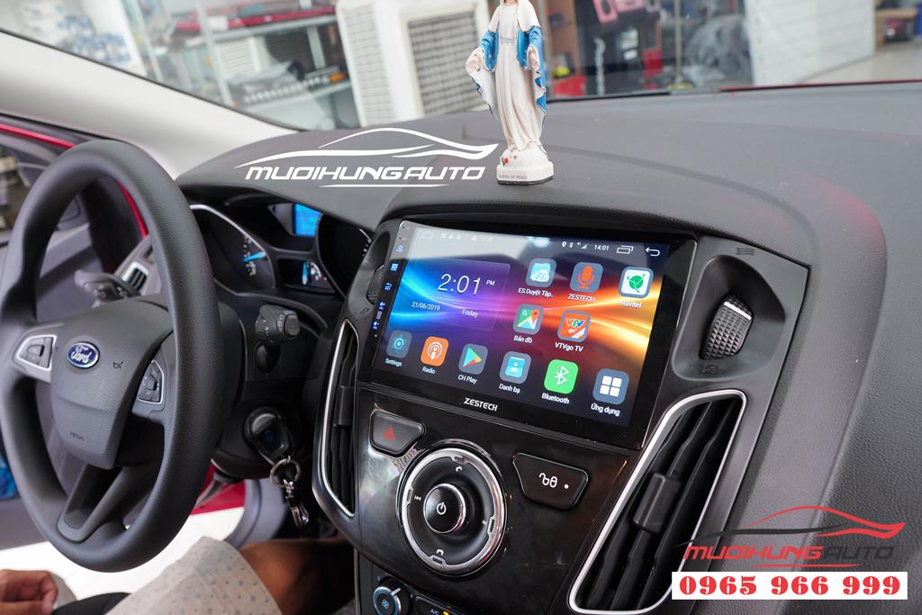 Gắn màn hình Dvd theo xe Ford Fiesta tại tphcm