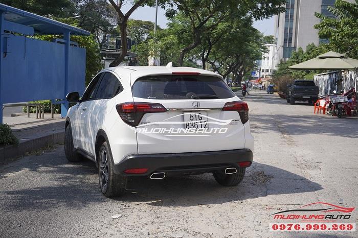 Honda HRV mạnh mẽ hơn với Pô Inox vuông 02