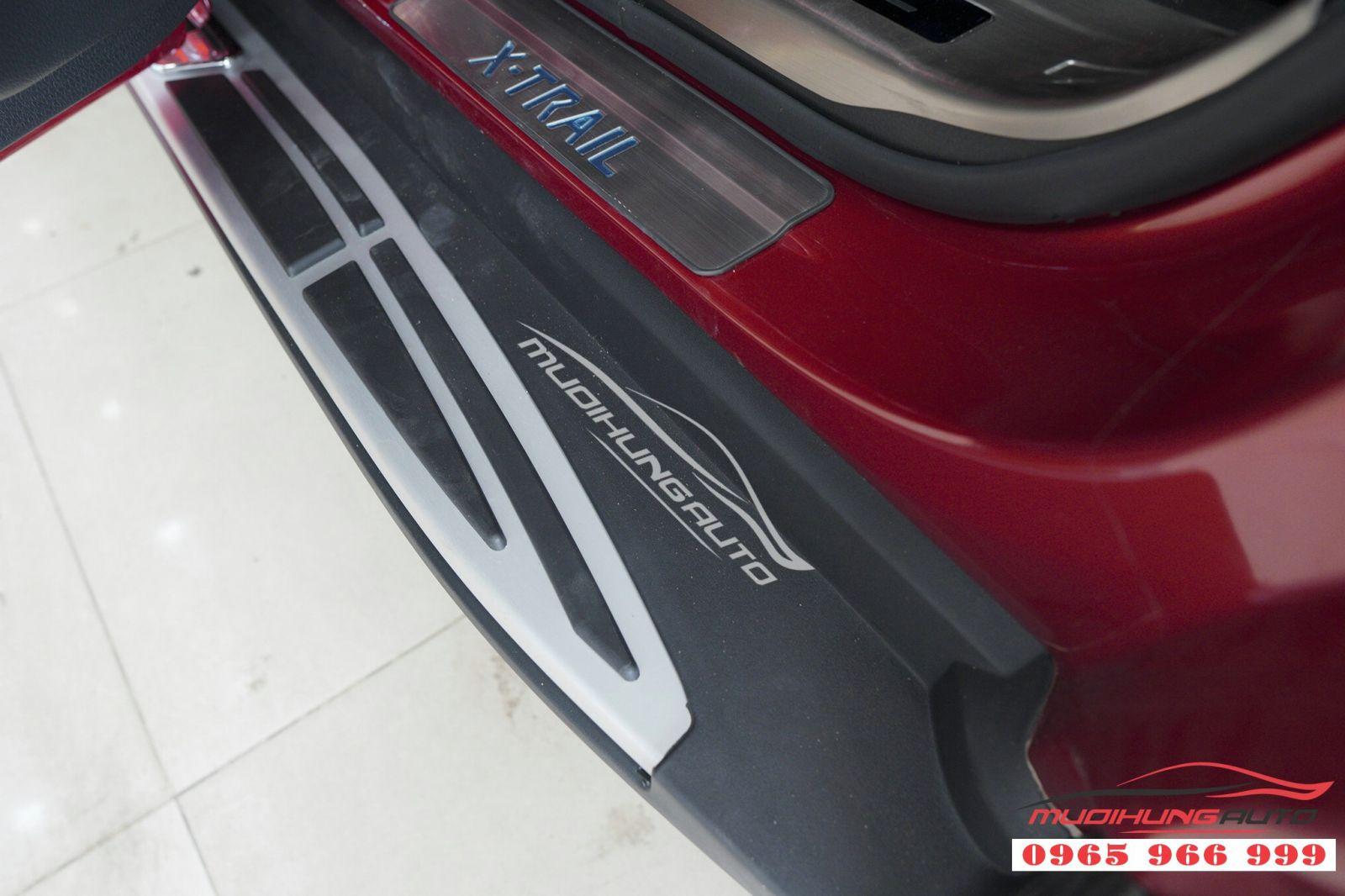 Lắp bệ bước chân chính hãng cho Nissan X-trail 07