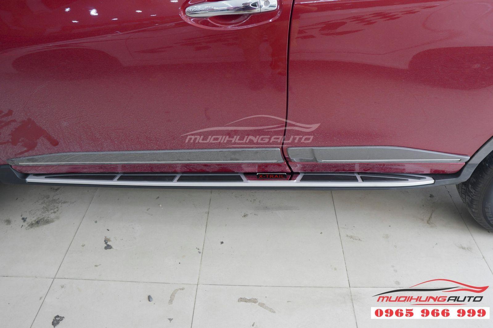 Lắp bệ bước chân chính hãng cho Nissan X-trail 08