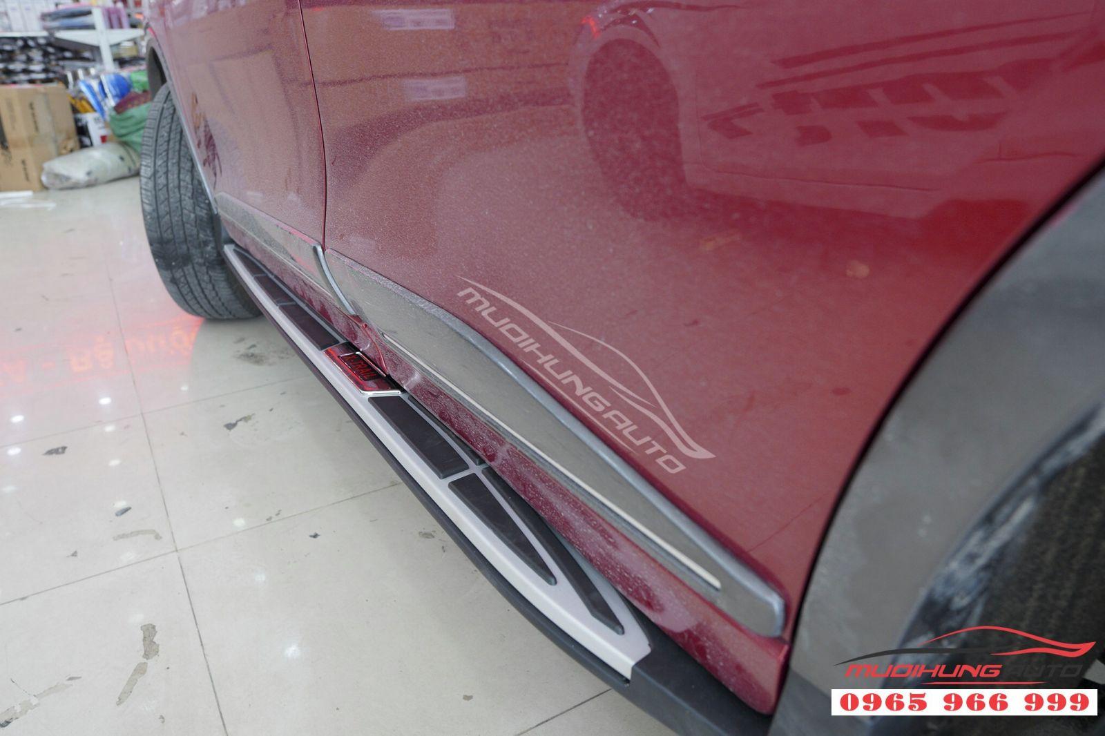 Lắp bệ bước chân chính hãng cho Nissan X-trail 09